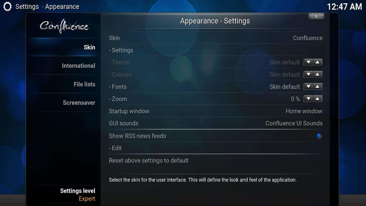 Screenshot of SPMC 14.2.0