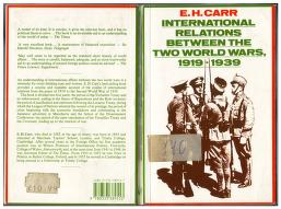 International relations between the two world wars, 1919-1939 by Carr, Edward Hallett